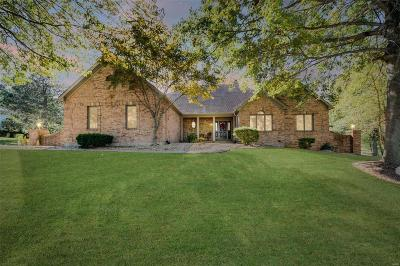 Weldon Spring Single Family Home For Sale: 681 Clifden Drive