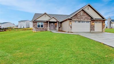 Wentzville MO Single Family Home For Sale: $379,900