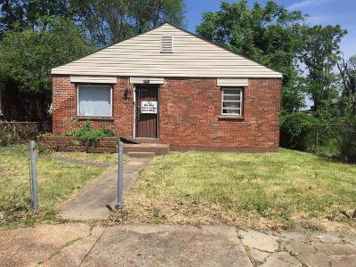 St Louis Single Family Home For Sale: 2041 East John Avenue