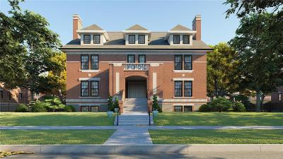 St Louis City County Condo/Townhouse For Sale: 4323 Westminster Place