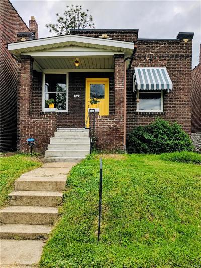 St Louis City County Single Family Home For Sale: 4973 Loughborough