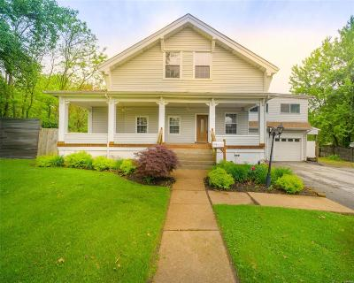 St Louis Single Family Home For Sale: 2419 Wismer Avenue