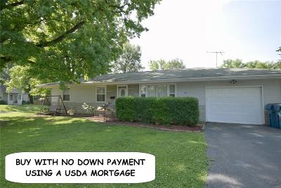 Troy IL Single Family Home For Sale: $114,900
