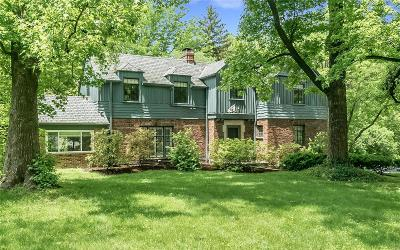 Ladue Single Family Home For Sale: 1725 South McKnight Road