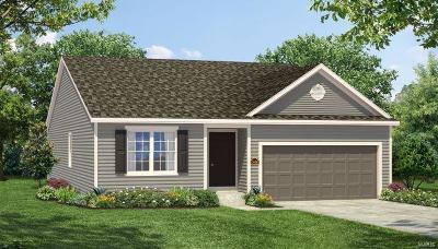 O'Fallon Single Family Home For Sale: 1 Tbb - Roosevelt @ Riverdale