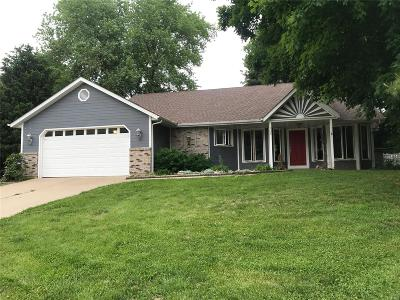 Collinsville Single Family Home For Sale: 102 Spring Glen