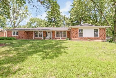 St Louis County Single Family Home For Sale: 313 Northmoor Drive