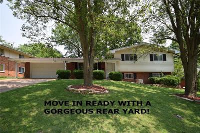 Single Family Home For Sale: 828 English Lane