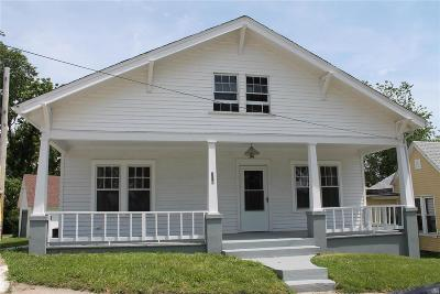 Hannibal MO Single Family Home For Sale: $99,300