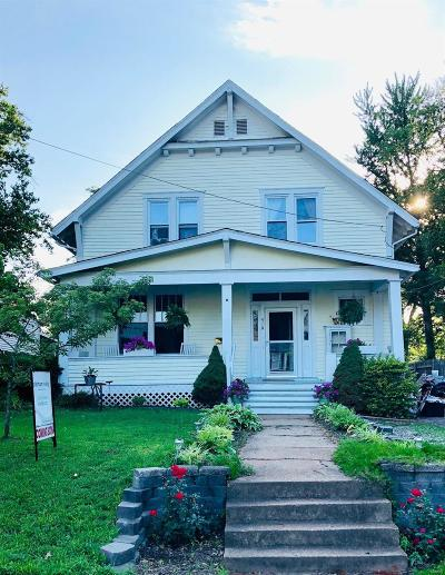 Single Family Home For Sale: 419 Crest Avenue