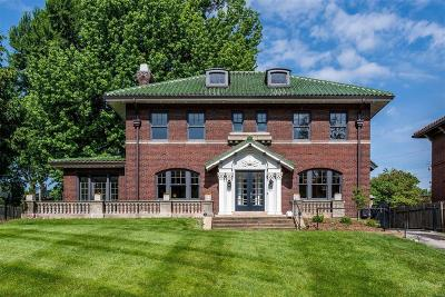 St Louis City County Single Family Home For Sale: 919 South Skinker Boulevard