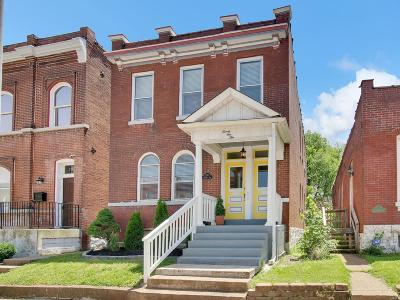 St Louis Single Family Home For Sale: 2110 Withnell Avenue