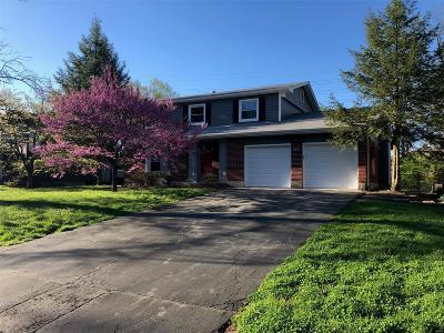 St Louis Single Family Home For Sale: 542 Lyman Place