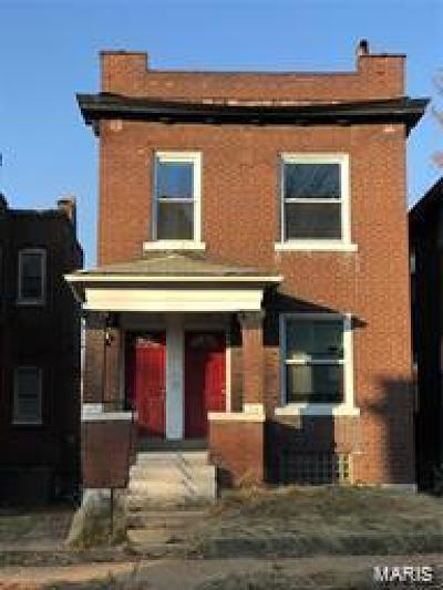 St Louis City County Single Family Home For Sale: 3109 Wyoming Street