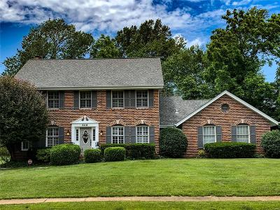 Ballwin Single Family Home For Sale: 608 Log Hill Court
