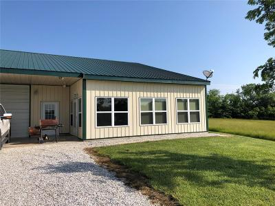 Monroe City, Paris, Perry, Stoutsville, Center, New London, Vandalia Single Family Home For Sale: 22490 Highway 107
