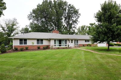 Creve Coeur Single Family Home For Sale: 123 North Mosley Road