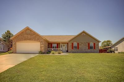 Smithton Single Family Home For Sale: 513 Stonefield Drive