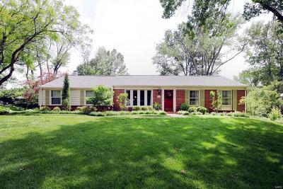 Des Peres Single Family Home For Sale: 762 Oak Valley Drive