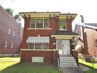 St Louis City County Multi Family Home For Sale: 3317 South Jefferson Avenue