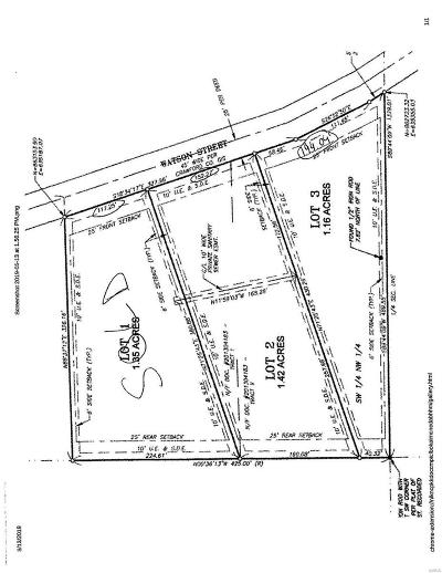 Sullivan Residential Lots & Land For Sale: Lot 2 Watson Road