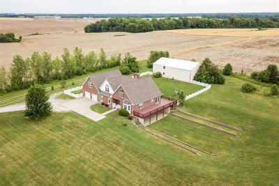 Waterloo Single Family Home For Sale: 1358 North Illinois Route 3