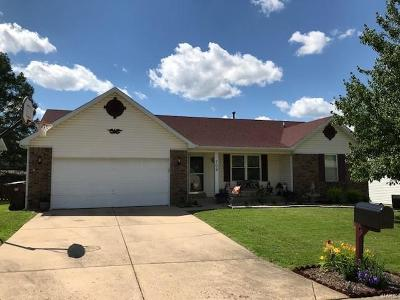 St Peters Single Family Home For Sale: 709 Cougar Creek Trail