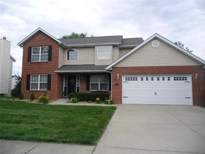O'Fallon Single Family Home For Sale: 1230 Illini Drive