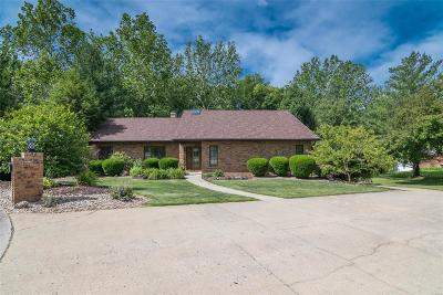 Glen Carbon Single Family Home For Sale: 26 Waterford Lane