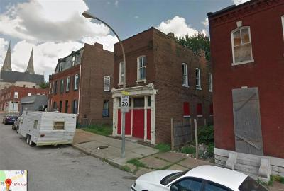 St Louis MO Multi Family Home For Sale: $10,000
