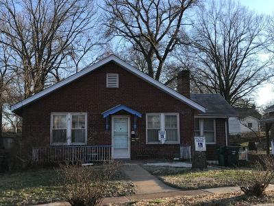 St Louis Single Family Home For Sale: 7308 Lansdowne Avenue