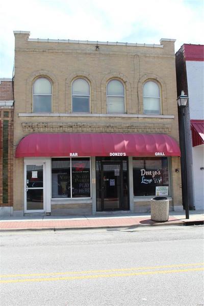 Wood River Commercial For Sale: 8 East Ferguson Avenue