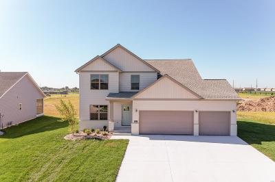 O'Fallon New Construction For Sale: 813 Green Jacket Way