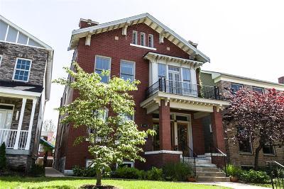 St Louis City County Single Family Home For Sale: 5782 McPherson Avenue