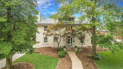 Clayton MO Single Family Home For Sale: $1,495,000
