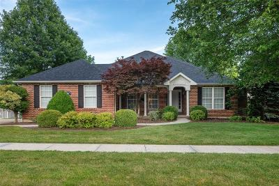 St Louis County Single Family Home Active Under Contract: 6112 Clifton Oaks Place