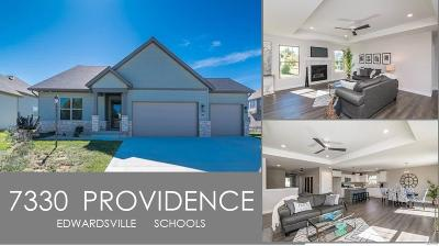 Edwardsville Single Family Home For Sale: 7330 Providence Dr.