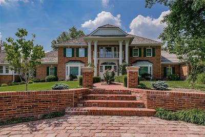 Single Family Home For Sale: 12119 Oakcrest Estates