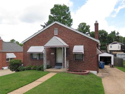 St Louis MO Single Family Home For Sale: $85,000