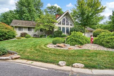Glen Carbon Single Family Home For Sale: 46 Larkmoor