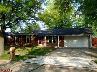Florissant Single Family Home Active Under Contract: 3642 Rosant Court