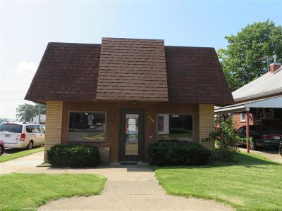 Wood River Commercial For Sale: 256 East Lorena Avenue