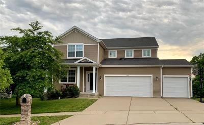 Dardenne Prairie Single Family Home Active Under Contract: 1160 Keighly Crossing