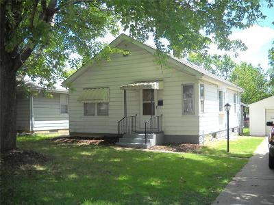 Alton Single Family Home For Sale: 3415 Milton Drive