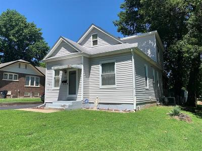 Belleville Single Family Home For Sale: 323 North 37th Street