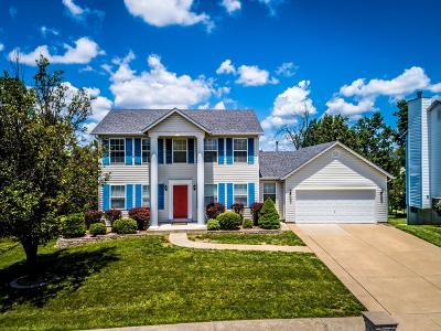 Wentzville Single Family Home Active Under Contract: 407 Wildflower Ridge Court