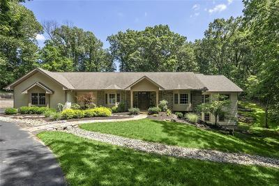 Dardenne Prairie, Defiance, Lake St Louis, O'fallon, St Charles, Wentzville, Chesterfield, Wildwood Single Family Home For Sale: 1620 Horseshoe Ridge Road