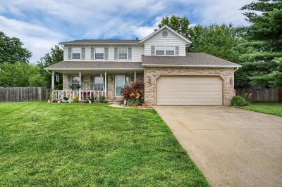 O'fallon Single Family Home Active Under Contract: 1109 Danzig Drive