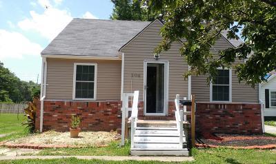 Cahokia Single Family Home For Sale: 504 Garrison Avenue