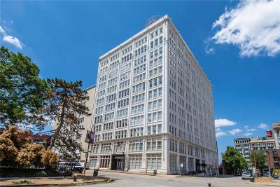 St Louis City County Condo/Townhouse For Sale: 1501 Locust Street #1101